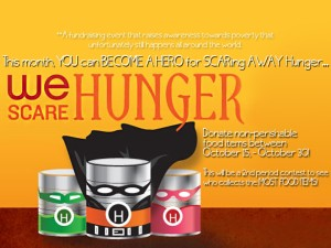We Scare Hunger ad