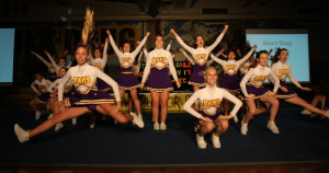Cheerleaders for website banner