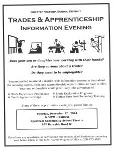 Trades and Apprenticeship