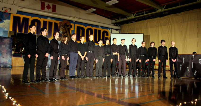 Talent Show – Men's Choir